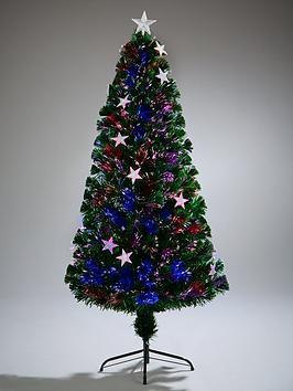 festive-4ft-fibre-optic-silver-star-christmas-tree