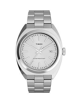 Timex Timex Timex Milano Xl 38Mm Stainless Steel Bracelet Watch Picture