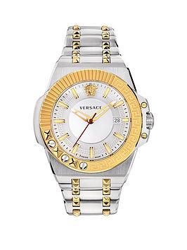 Versace Versace Versace Chain Reaction 45Mm Sport Luxury Watch Picture