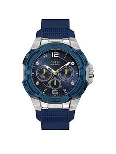 guess-guess-genesis-blue-and-silver-silicone-strap-mens-watch