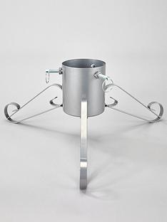 festive-58-cm-silver-metal-christmas-tree-stand