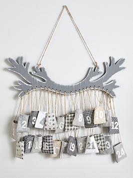 festive-hanging-wooden-antler-advent-calendarnbspwith-pockets