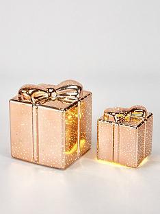 festive-set-of-2-parcel-light-upnbspchristmas-decorations-rose-gold