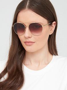 burberry-pilot-sunglasses-pale-gold