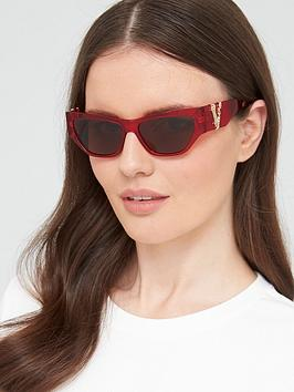 versace-cat-eye-sunglasses-transparent-red