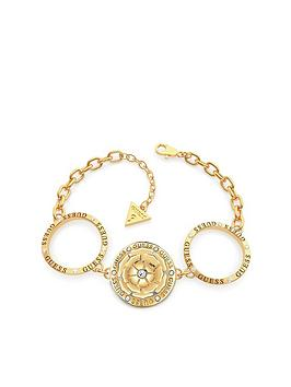 Guess Guess Peony Charm Circles Bracelet Picture