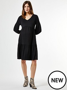 dorothy-perkins-dorothy-perkins-maternity-jersey-smock-dress-black