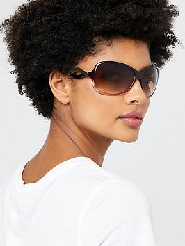 Accessorize Accessorize Wendy Wave Sunglasses - Brown Picture
