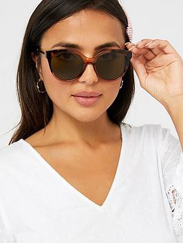 Accessorize Accessorize Two Tone Sunglasses - Tortoiseshell Picture
