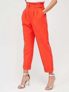 River Island River Island Peg Trouser-Red Picture