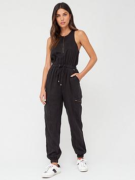 superdry-kaya-utility-jumpsuit-black