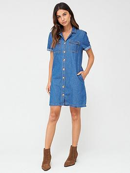 superdry-kaya-utility-shirtdress-indigo