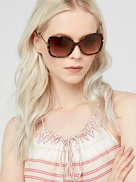 Accessorize Accessorize Sophie Metal Detail Square Sunglasses -  ... Picture
