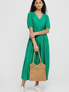 monsoon-janet-jacquard-midi-dress-green