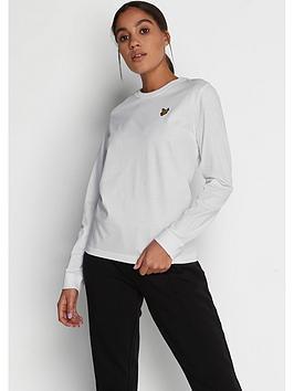 Lyle & Scott Lyle & Scott Long Sleeve T-Shirt - White Picture