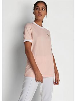 Lyle & Scott Lyle & Scott Ringer T-Shirt - Pink Picture