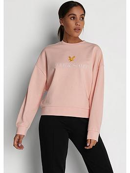 Lyle & Scott Archive Sweatshirt - Pink
