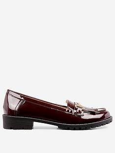 dorothy-perkins-lewis-loafer-burgundy