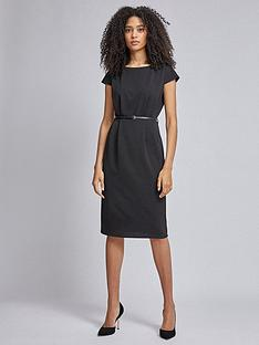 dorothy-perkins-dorothy-perkins-black-belted-pencil-dress