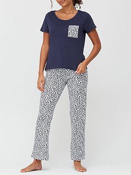 heart-pant-amp-t-shirt-pyjamas-navy