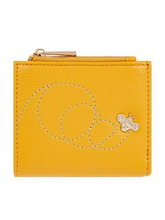 accessorize-queen-bee-embossed-bella-wallet-yellow