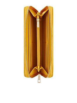Accessorize   Bee'S Knees Zip Around Wallet - Yellow