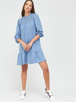 river-island-broderie-anglaisenbspmix-mini-smock-dress-blue