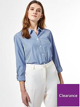 dorothy-perkins-stripe-poplin-shirt