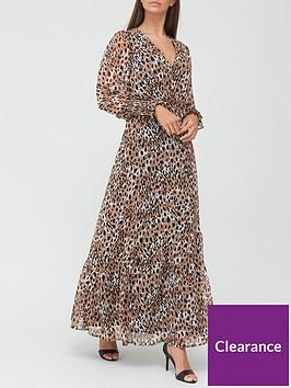 v-by-very-georgette-wrap-maxi-dress-animal