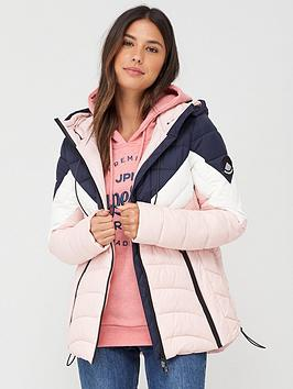 Superdry Superdry Colour Block Eclipse Padded Jacket - Multi Picture
