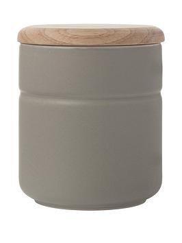 Maxwell & Williams Maxwell & Williams Canister 600Ml Grey Picture
