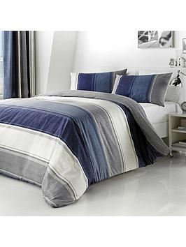 Fusion Fusion Betley Duvet Cover Set In Blue Picture