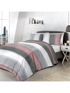 Fusion Fusion Betley Duvet Cover Set In Pink Picture
