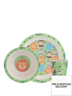 viners-jungle-3-piece-kids-dinner-set