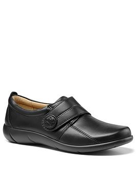 Hotter Hotter Sugar Wide Fit Touch Close Shoes - Black Picture