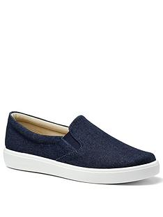 hotter-tara-canvas-slip-on-shoes-denim-blue