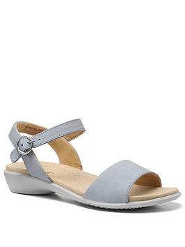 Hotter Hotter Tropic Ankle Strap Sandals - Sky Picture