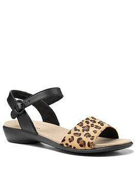 Hotter Hotter Tropic Ankle Strap Sandals - Black Picture