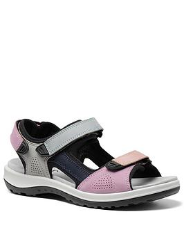 Hotter Hotter Travel Walking Sandals - Pastel Picture