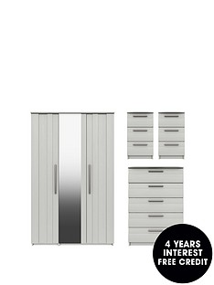 taylor-part-assemblednbsp4-piece-package-3-door-mirrored-wardrobe-5-drawer-chest-and-2-bedside-chests
