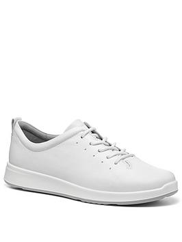 Hotter Hotter Gentle Lace Up Casual Shoes - White Picture