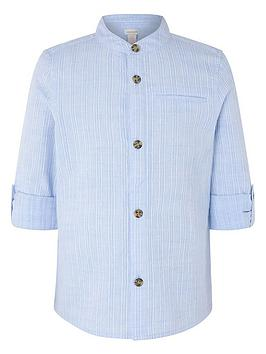 monsoon-boys-jamie-texture-shirt-blue