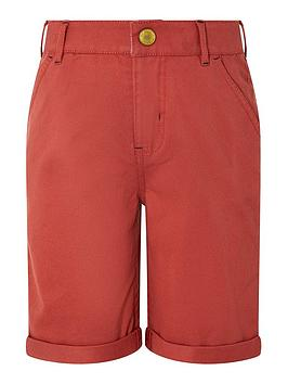 Monsoon Monsoon Boys Rufus Short - Red Picture