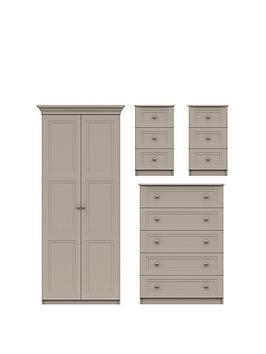 reid-4-piecenbspreadynbspassemblednbsppackage-2-doornbspwardrobe-5-drawer-chest-and-2-bedside-cabinets