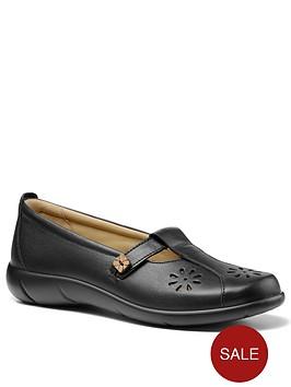 hotter-nirvana-ladies-wide-fit-t-bar-shoes-black