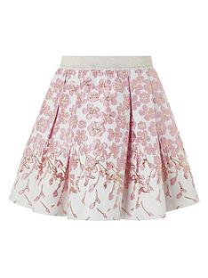 monsoon-girls-petal-border-jacquard-skirt-pink