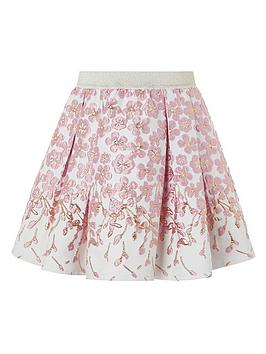 monsoon-girls-petal-border-jacquard-skirt-pink