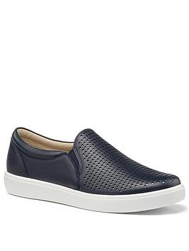 Hotter Hotter Daisy Wide Fit Deck Shoes - Navy Picture