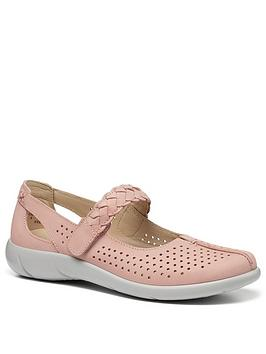 Hotter Hotter Quake Mary Jane Shoes - Blush Picture