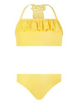 Monsoon Monsoon Girls S.E.W. Pia Pineapple Bikini - Yellow Picture
